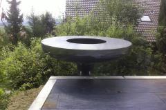 Ufo Feuerring, Grill drehbar