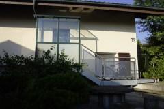 Geländer mit Lochblech 2