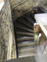 Treppe Riffelblech