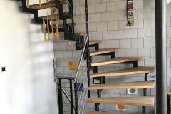 Treppe mit Holztritten