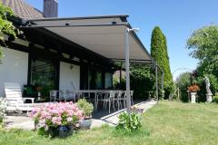 Vordach Garten mit Store